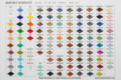 FIRST GEMDUO BEADS COLOR CHART AVAILABLE