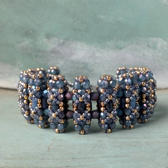 """Lucca"" beaded bead"