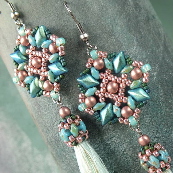 """Agatha"" earrings"
