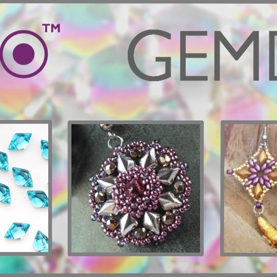 OUR NEW BEAD MATUBO GEMDUO™